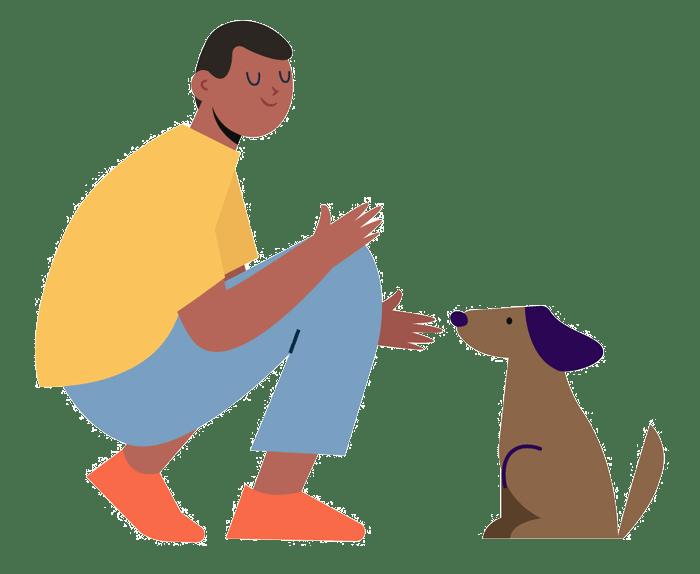 פרויקט כלב אל לב טיפול באמצעות בעלי חיים