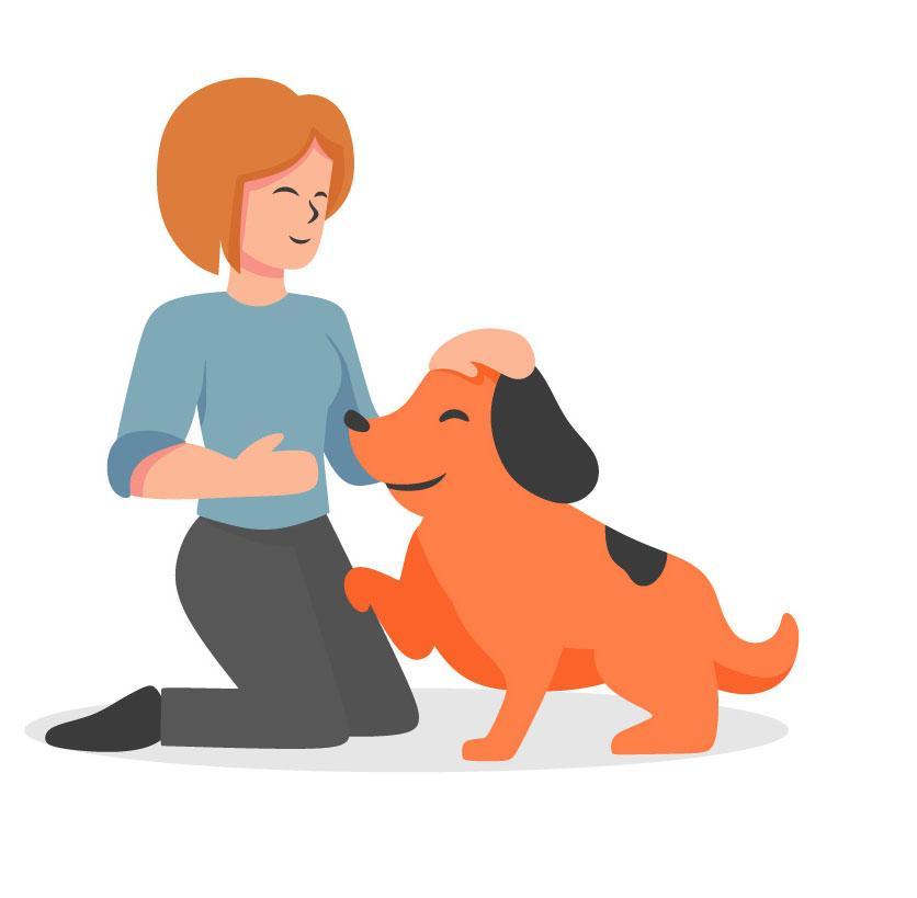 כלבנות טיפולית אילוף בדרך אחרת